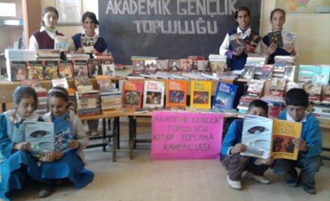 Kmü'de Kitap Toplama Kampanyası