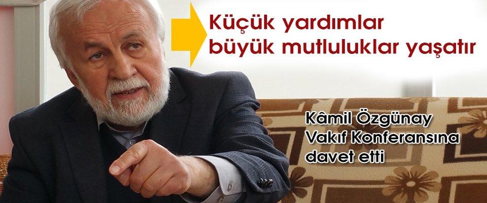 KONFERANSA DAVET ETTİ