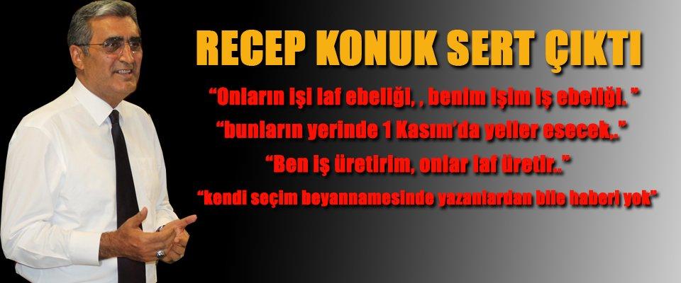 KONUK, ALİ GÜLER'e SERT ÇIKTI!!