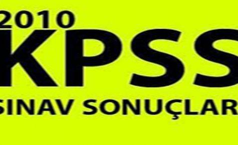 Kpss Sonuçları Açıklandı.