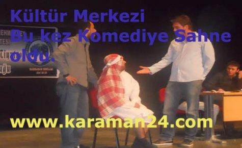 Kültür Merkezi Komediye Sahne Oldu..