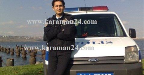 MARDİNDE KARAMANLI POLİS ŞEHİT OLDU