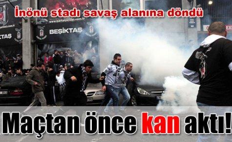 Olaylı Bjk-Bursa maçı holiganlarına ceza yağdı..