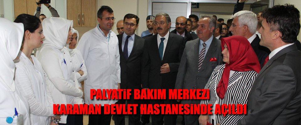 PALYATİF MERKEZİ ÜLKE GENELİNDE İLKLERDEN..