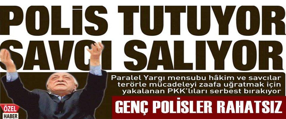 POLİS YAKALIYOR SAVCI BIRAKIYOR