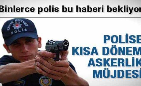 Polisler İçin Askerlik Süresi Belli Oldu