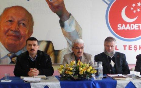 Saadet Partisi Karaman il başkanı Şaban ŞAHİN Kandil Mesajı yayınladı