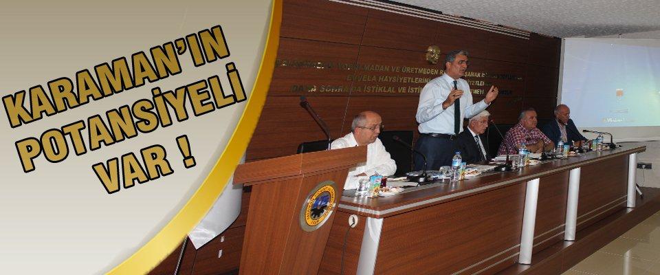 Serbest Bölge Çalıştayı Olarak Başladı Karaman Ekonomi Zirvesine Dönüştü