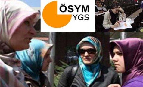 Son Dakika:YGS'de Türban Serbest