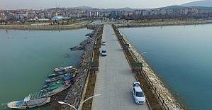 Beyşehir Gölü sahilinde yeni çekim merkezi
