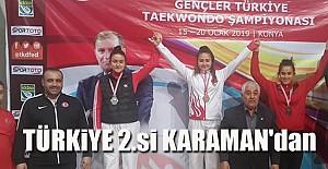 Gümüş Madalya Kazandı..
