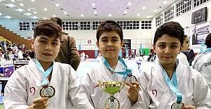 Kırşehirli karateciler madalyaları topladı