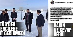 Rektör Akgül#039;den Kar Tatili...