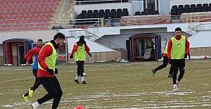 Sivas Belediyespor 2. yarıya hazır