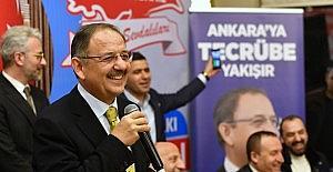 """""""Ankara'mızı başka bir kent haline getiririz"""""""