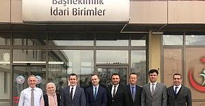 Kaymakam Aksoy'dan hastane ziyareti