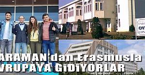 KMÜ'den Erasmusa 4 Öğrenci