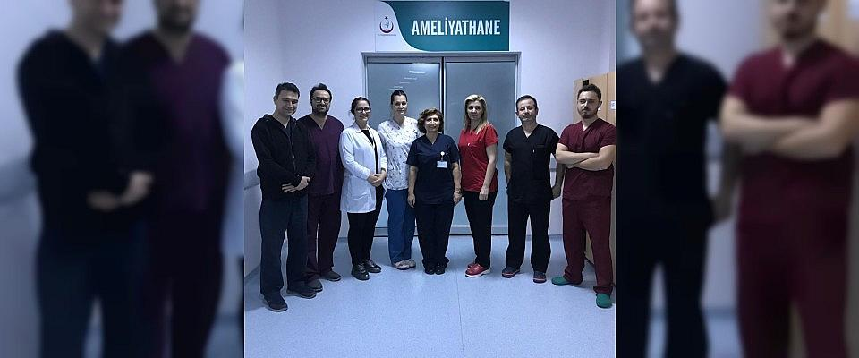 Aksaray'da anestezisiz ameliyat