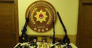 Başkentte silah kaçakçılarına yönelik operasyon