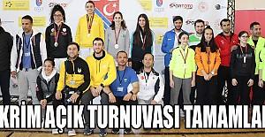 Eskrim Açık Turnuvası, Karamanda'da Tamamlandı