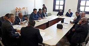 İlçe Seçim Kurulu Toplantısı yapıldı