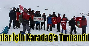 İstiklal Marşı Kabulü ve Çanakkale Şehitleri için 9. Karadağ Zirvesi