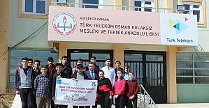 Kamanlı öğrenciler ERASMUS projesi ile Almanya'da eğitim görecek