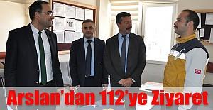 Karaman İl Sağlık Müdürü Dr. Hasan Arslan 22 Mart ATT leri ziyaret etti