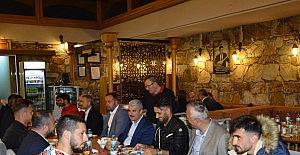 Kırşehir Belediyespor'a moral yemeği