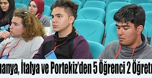 Milli Eğitim Müdürlüğü, Avrupa'dan Gelen Eğitimcileri ve Öğrencileri Ağırladı