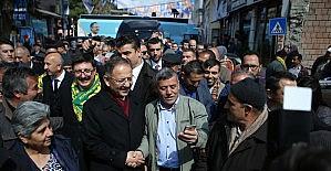 """Özhaseki'den """"asfalt seferberliği""""..."""