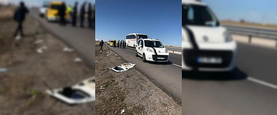 Şereflikoçhisar'da trafik kazası: 3 yaralı