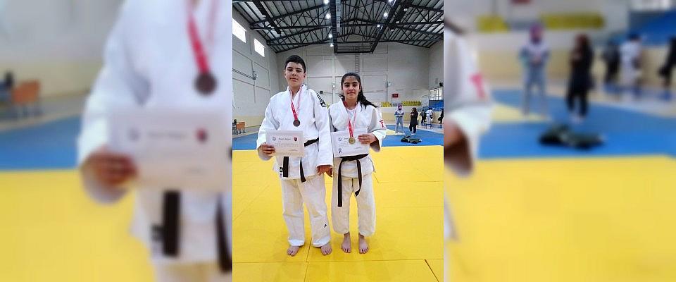 Sivassporlu judocular Bingöl'den dereceyle döndü