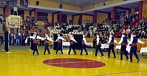 Sivas'ta kulüplerarası halk oyunları yarışması yapıldı
