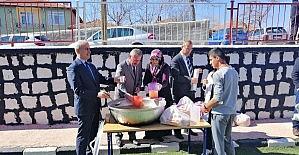 Sorgun'da öğrencilere Çanakkale menüsü