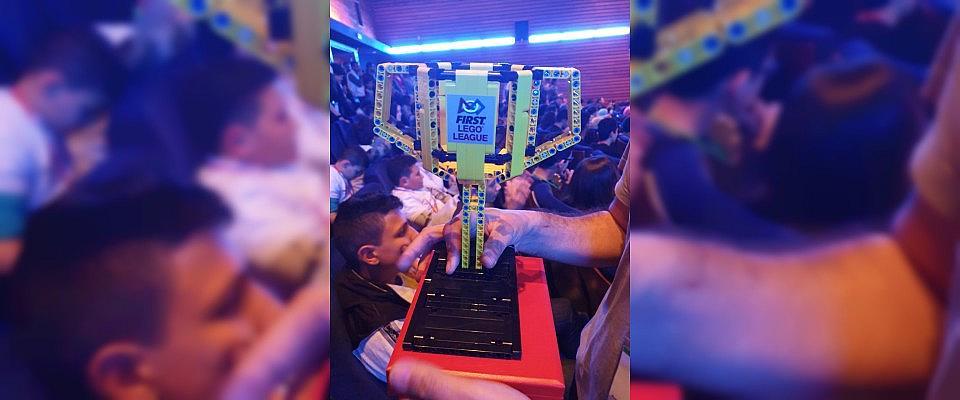 Tunus Maarif Okulu'na First Lego League Challenge'da birincilik ödülü