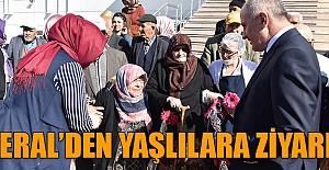 Vali Meral, yaşlılar ve öğrenciler ile bir araya geldi