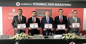 Vodafone 14. İstanbul Yarı Maratonu için geri sayım sürüyor