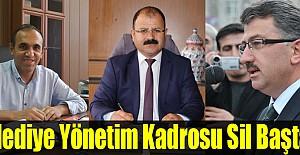Belediye Yönetim Kadrosu Sil Baştan..