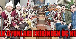 Halk Oyunları Ekibi, Türkiye Dördüncüsü Oldu