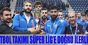 Hentbol Takımı Süper Lig'e Doğru İlerliyor