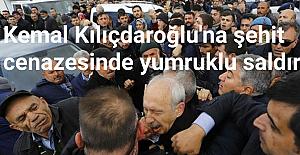 Kılıçdaroğlu#039;na şehit cenazesinde...