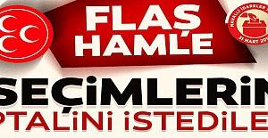 MHP'den İstanbul için flaş hamle