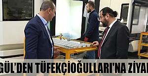 Rektör Akgül'den  Tüfekçioğulları'na Nezaket Ziyareti