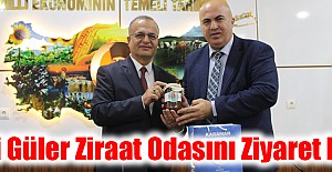 Ali Güler Ziraat Odasını Ziyaret Etti