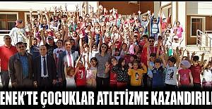 Ermenek'te Çocuklar Atletizme Kazandırılıyor
