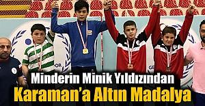 Karaman'a Altın Madalya