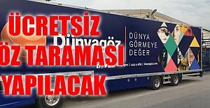 Karamanlılara ücretsiz göz sağlığı taraması yapılacak
