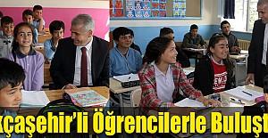 Kurt, Akçaşehir'li Öğrencilerle Buluştu