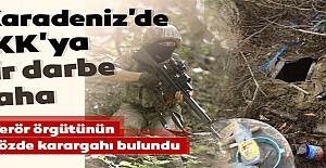 Terör örgütü PKK'nın sözde Karadeniz karargahı bulundu!